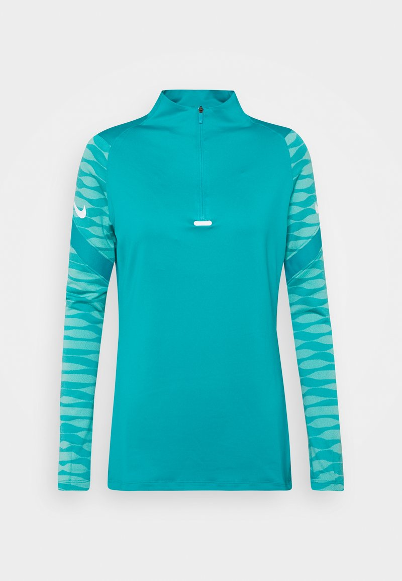 Nike Performance - DRY STRIK - Sports shirt - aquamarine/tropical twist/white