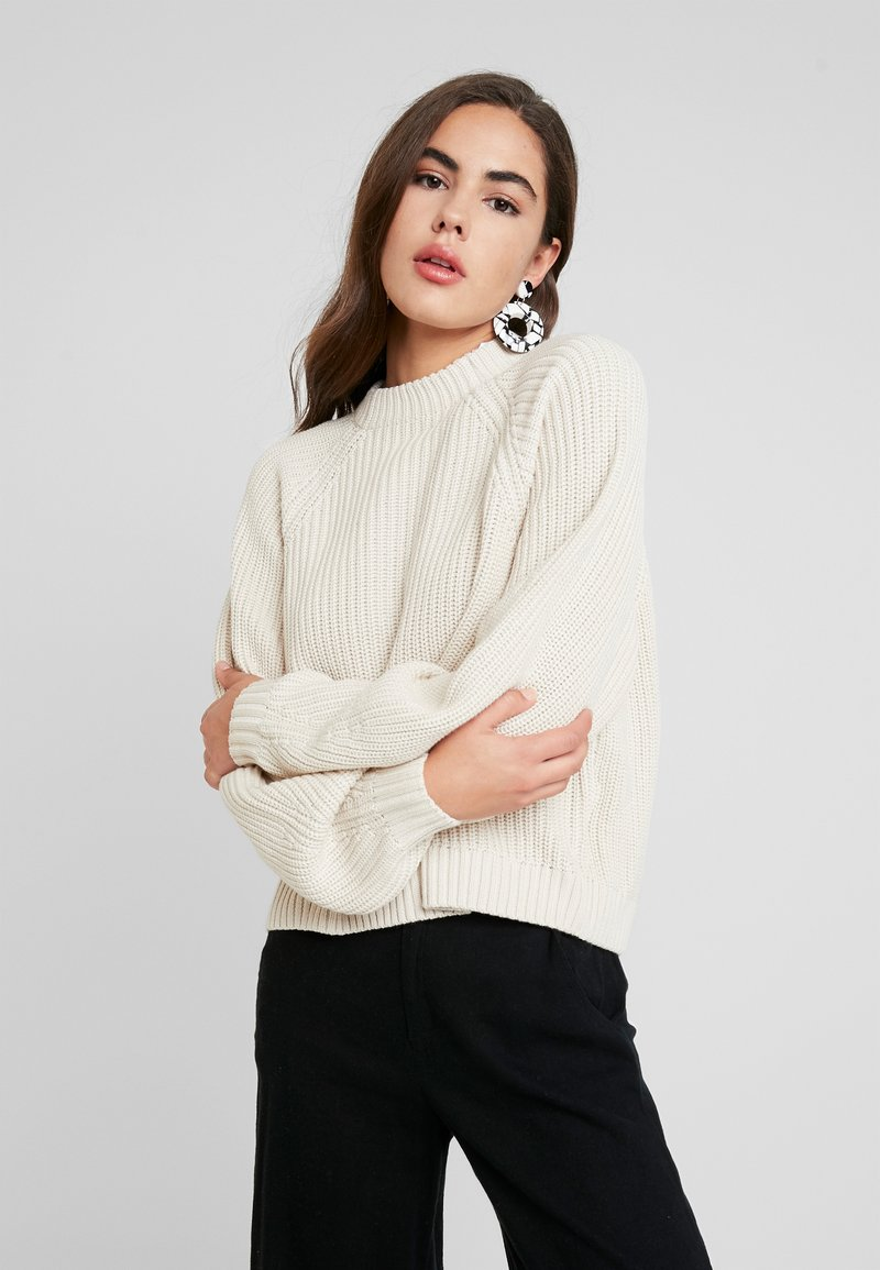 Monki - GITTY  - Strickpullover - sand