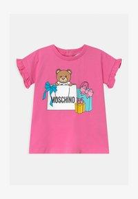 MOSCHINO - Jersey dress - azalea pink - 0