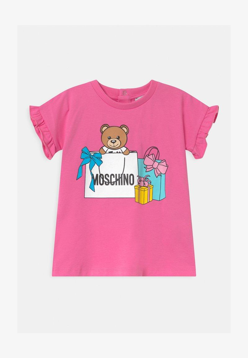 MOSCHINO - Jersey dress - azalea pink