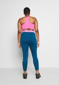 Nike Performance - ONE PLUS - Punčochy - valerian blue/cosmic fuchsia - 2