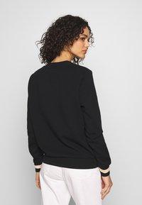 Scotch & Soda - V-NECK  - Sweatshirt - black - 2