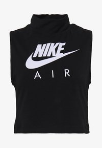Nike Sportswear - AIR TANK MOCK - Topper - black/white - 3