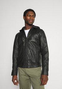 Strellson - FANE - Leather jacket - black - 0
