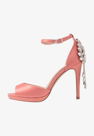 LACEY - High heeled sandals - peach