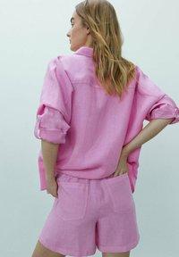 Massimo Dutti - MIT  - Shorts - neon pink - 1