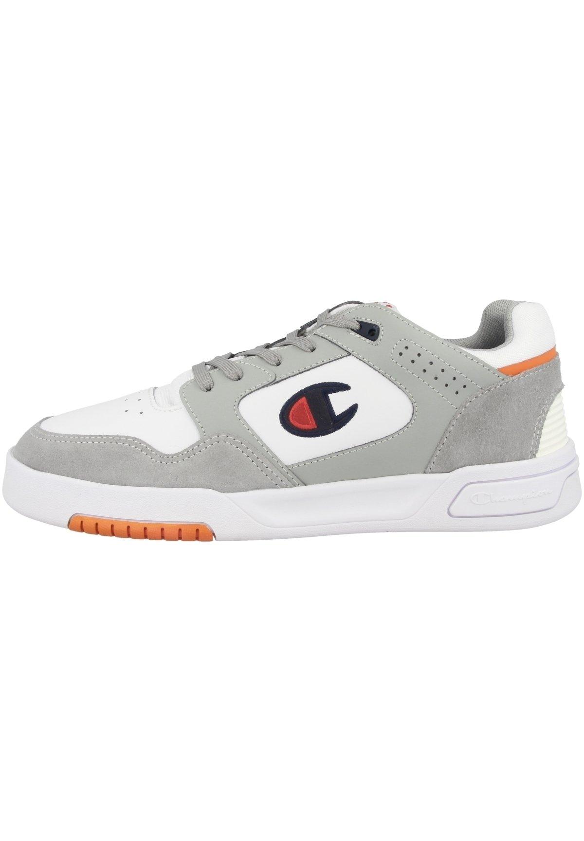 Herren Basketballschuh - wht-grey-orange