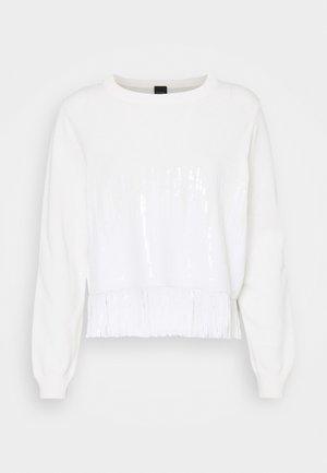 SNOWBOARD MAGLIA - Jumper - white