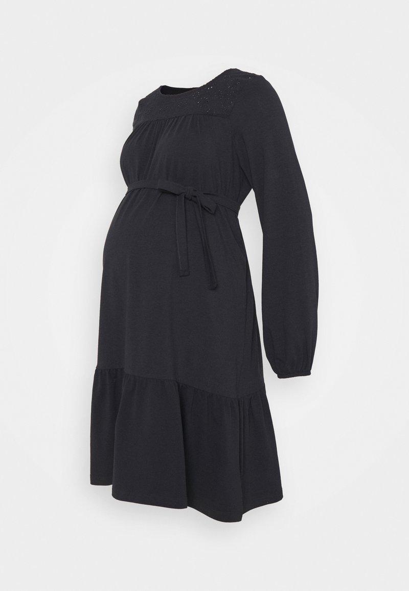 MAMALICIOUS - MLNESSA DRESS - Jerseykjoler - dark navy