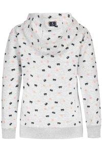 Sublevel - Zip-up sweatshirt - light grey - 1
