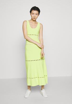 NEON DRESS - Jerseykjole - lime