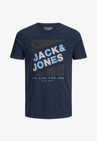 JCODEFENDER TEE CREW NECK - T-shirt con stampa - navy blazer