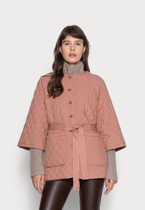 IRICA JACKET - Short coat - mocha mousse