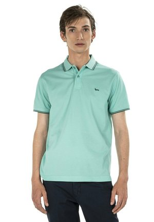 Poloshirt - verde screziato