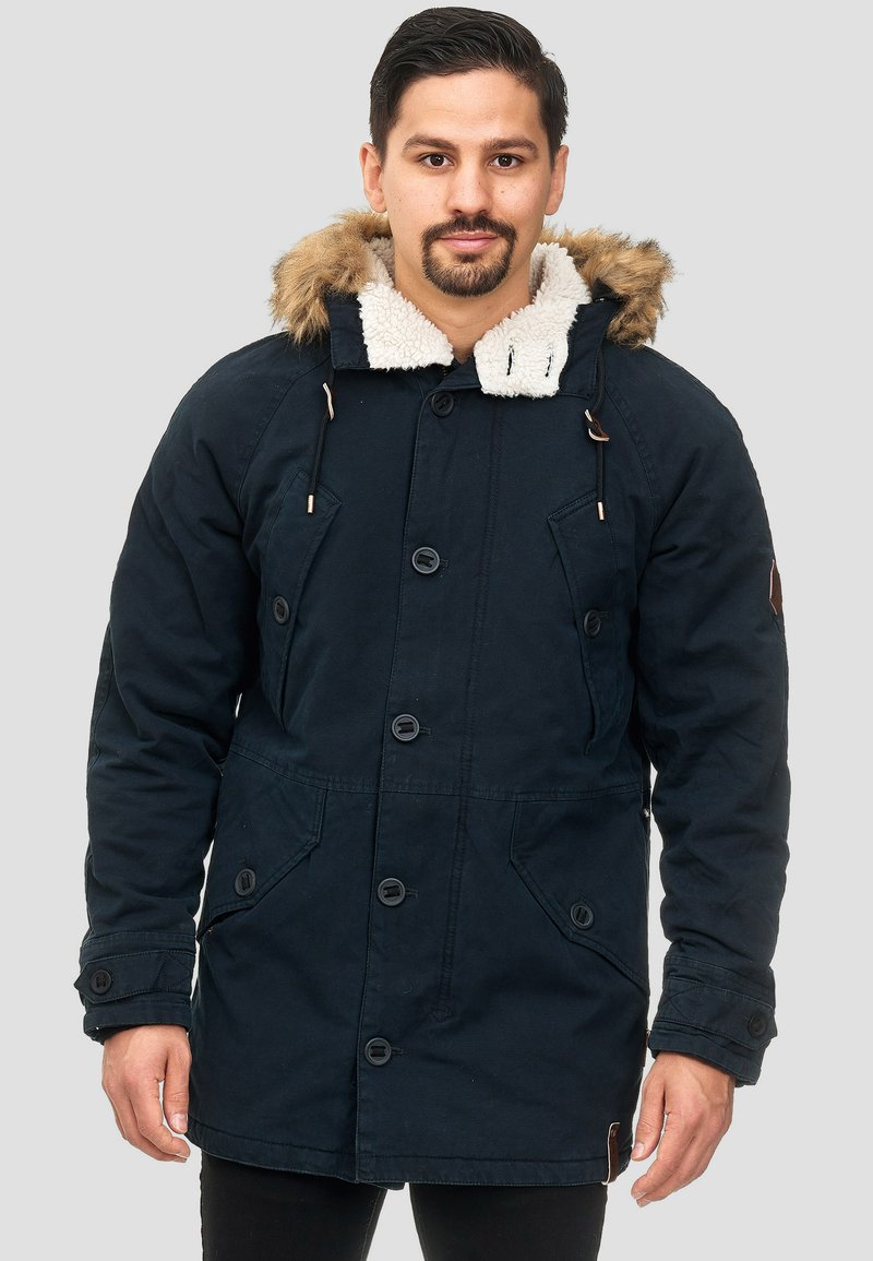 INDICODE JEANS - Winter coat - black