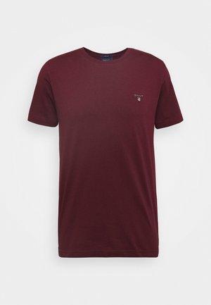 ORIGINAL - T-shirt - bas - port red