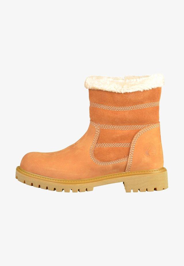 DARKWOOD - Snowboots  - cinnamon