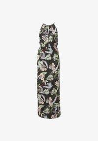 TOM TAILOR DENIM - TROPICAL  - Maxi dress - black tropical print - 2