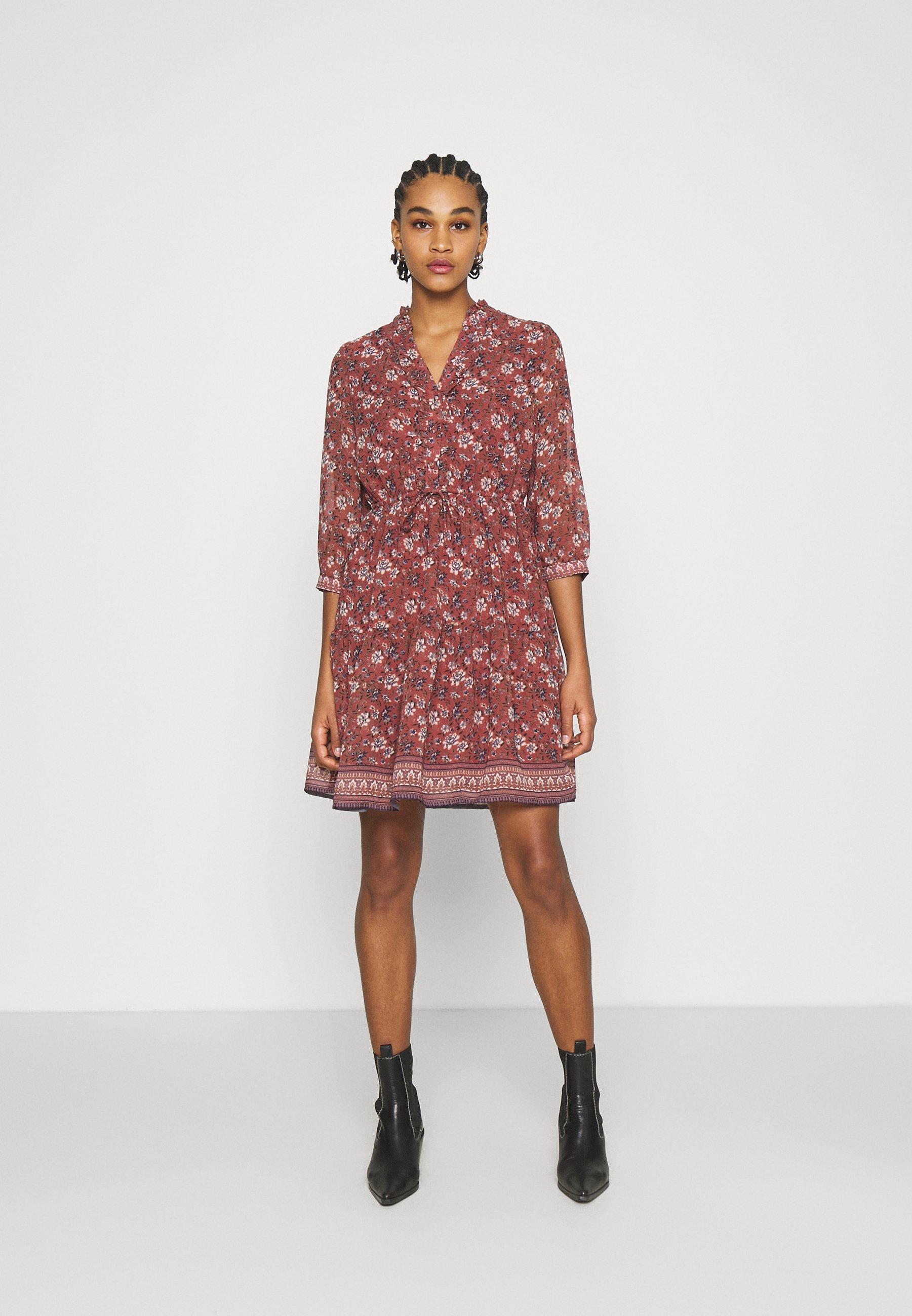 VMBELLA DRESS   Freizeitkleid   marsala/bella