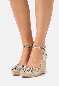 Even&Odd - Platform sandals - beige/brown - 0