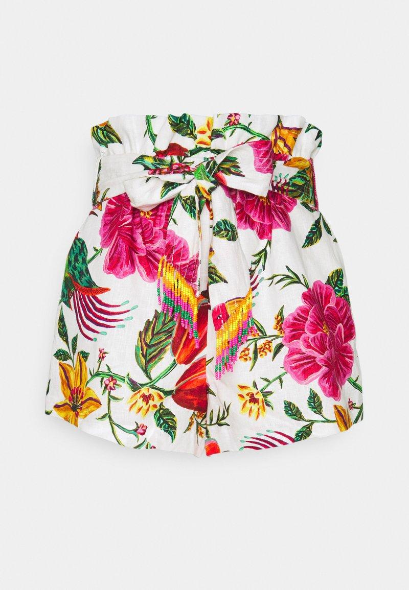 Farm Rio - PAPERBAG - Shorts - off white