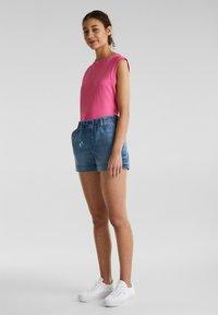 edc by Esprit - Denim shorts - blue medium washed - 1
