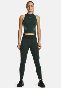 Under Armour - RUSH SEAMLESS CROP - Top - toddy green - 1