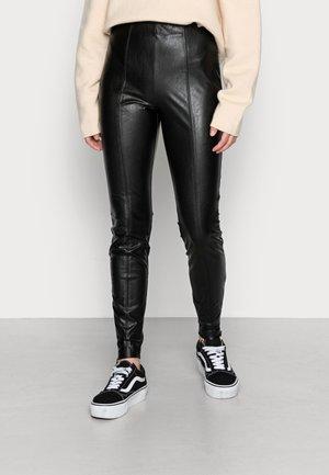 TERESA  - Leggings - Trousers - black