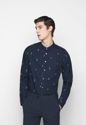 MENS SLIM FIT - Shirt - dark blue