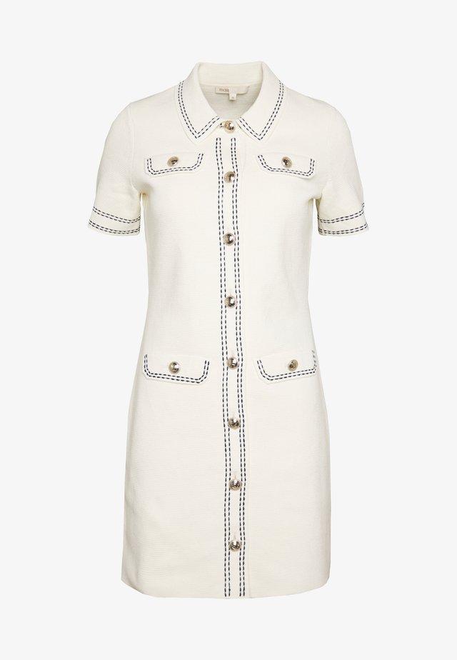 ROSIE - Shift dress - ecru