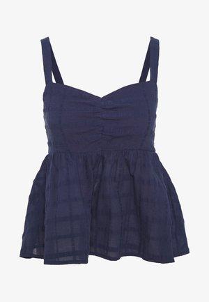 NMDELORES - Blouse - navy blazer