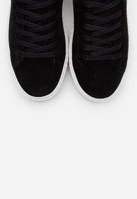 Vero Moda Wide Fit - VMKELLA WIDE FIT - Zapatillas - black - 5