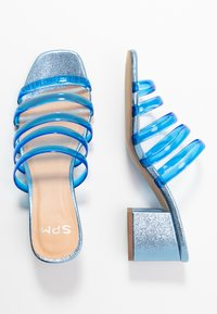 Steven New York - ISAK - Heeled mules - blue - 3