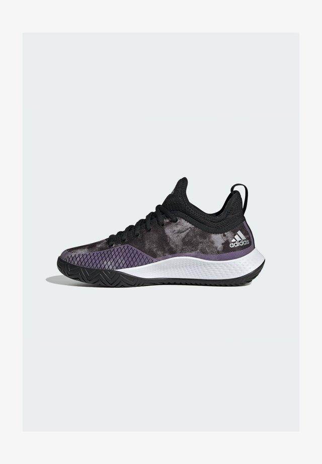 DEFIANT GENERATION MULTICOURT - Tennisschoenen voor kleibanen - black