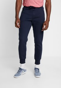 Superdry - COLLECTIVE - Tracksuit bottoms - darkest navy - 0