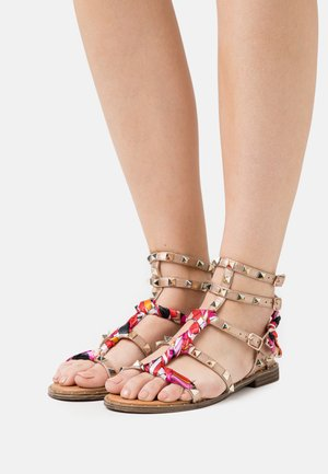 Sandalen - laminato rosa/oro