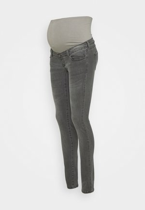 SKINNY DENIM - Vaqueros pitillo - grey denim