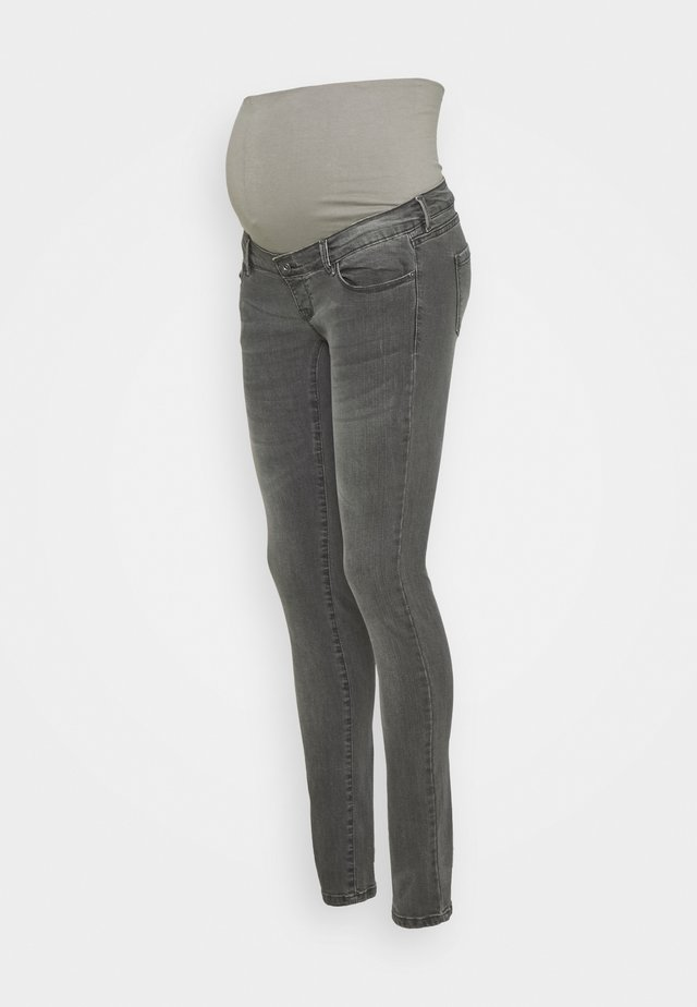 SKINNY DENIM - Skinny džíny - grey denim