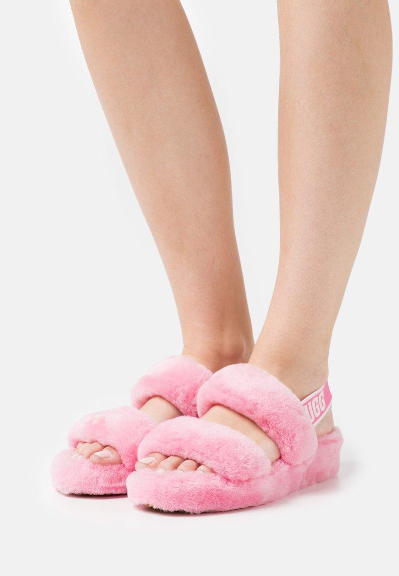 UGG - OH YEAH - Sandalen met plateauzool - sachet pink
