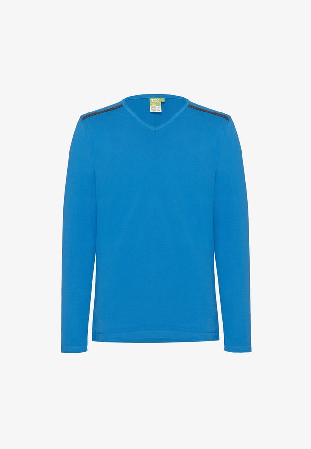 Long sleeved top - imperial blue