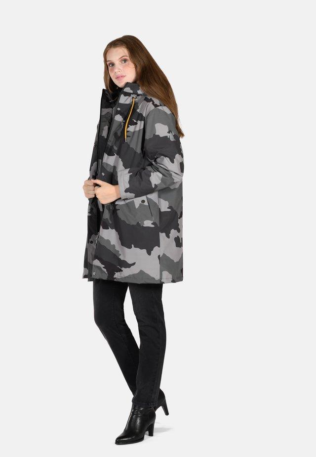 Donsjas - grey camouflage