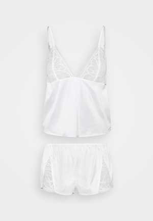 LUNA CAMI AND SHORT SET - Pyjamaser - ivory