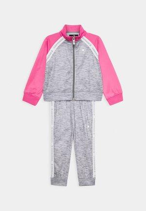 CHUCK SET - Zip-up hoodie - dark grey heather