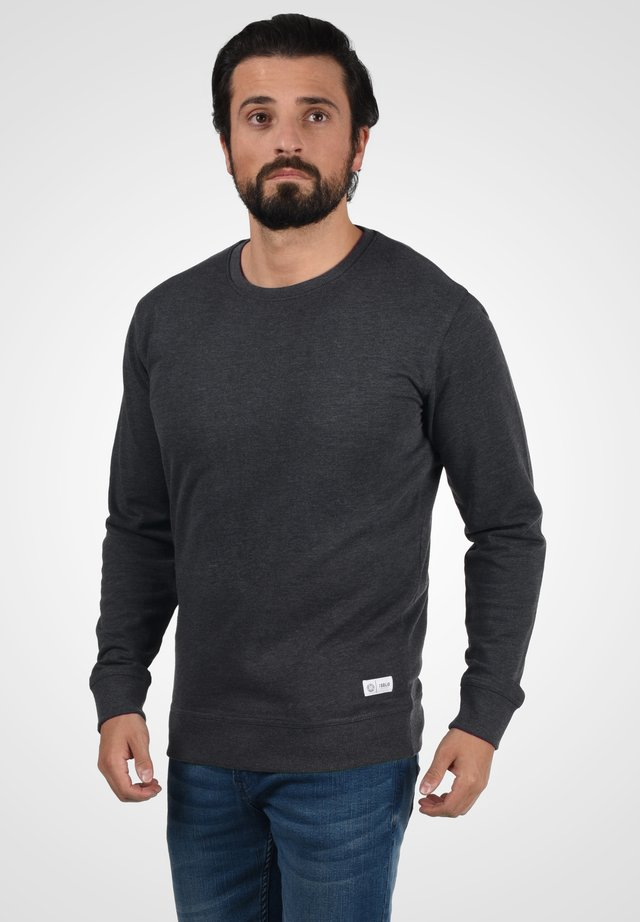 TARABO - Sweatshirt - dark grey melange