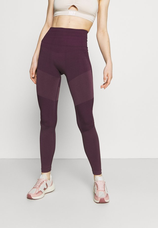 THE MOTION LEGGING - Tights - chinese violet