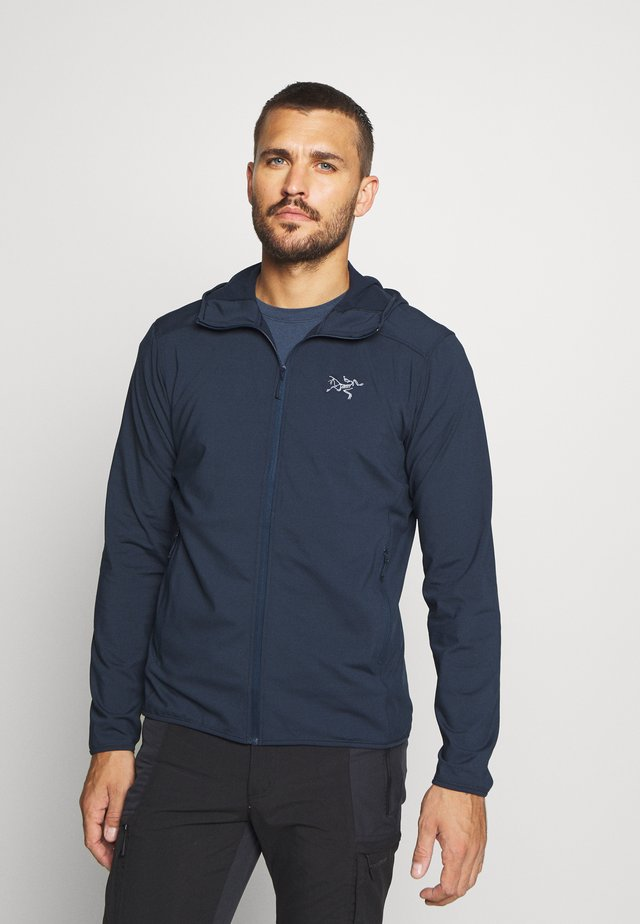 KYANITE LT HOODY MEN'S - Giacca in pile - cobalt moon