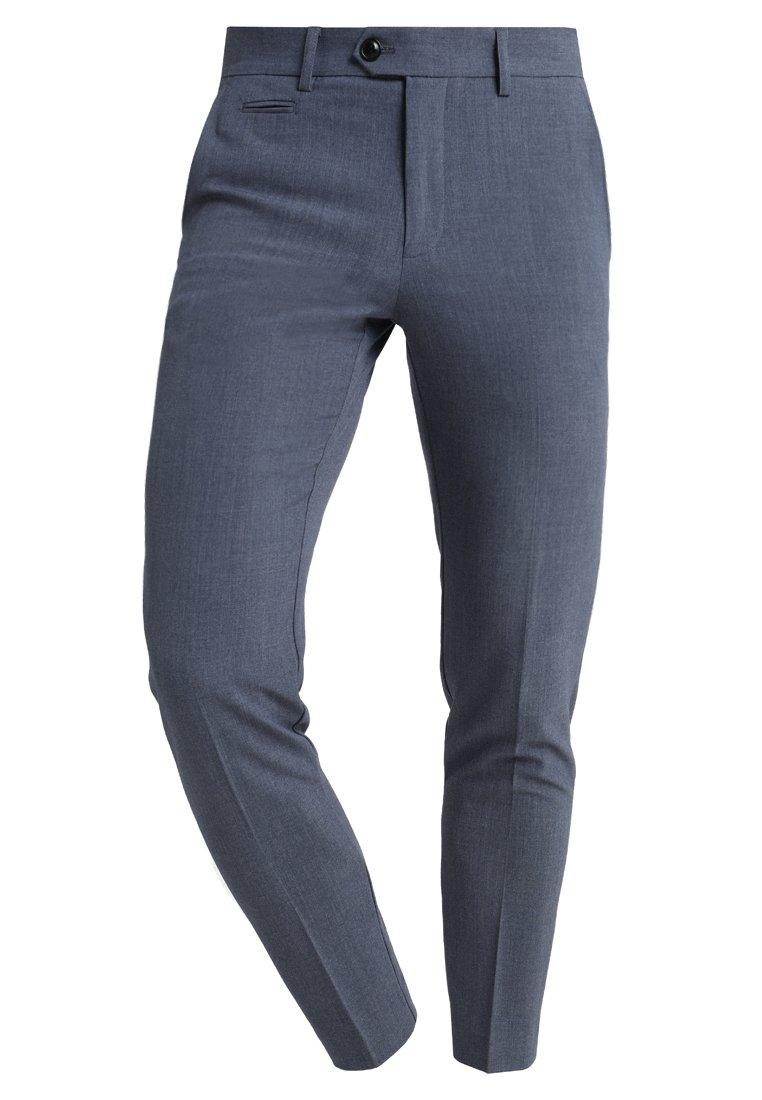 Lindbergh Club Pants - Bukse Blue Mix/blå