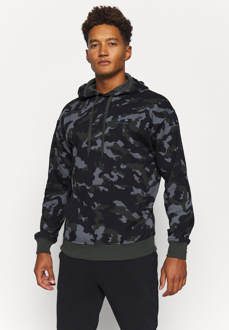 Under Armour - RIVAL - Hættetrøjer - baroque green