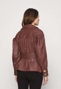 DAY Birger et Mikkelsen - DAY GROW - Leather jacket - cocco - 2