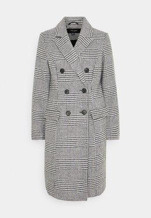 VMHAFIA CHECK JACKET - Płaszcz wełniany /Płaszcz klasyczny - black/white